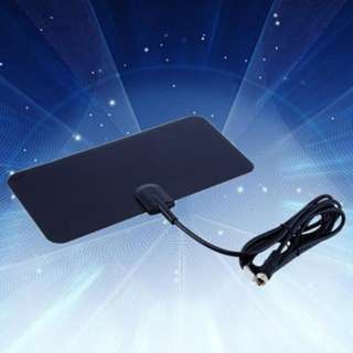 (373)Digital Indoor TV Antenna Ready HD High Gain HD TV DTV Box