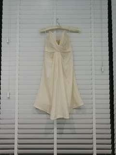 Zimmermann white silk dress