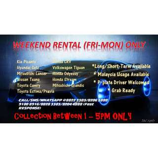 🎉🎉WEEKEND RENTAL🎉🎉 ☎️Call/SMS/Whatsapp for Booking/Reservation/Enquiries 🙋♀️Felicia 8822 3303/8206 5888 (FAST RESPONSE) 🙋♀️Kimberly 8204 4888 🙋♂️Alan 9180 8916