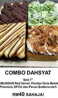 Combo Dasyat (cakes)