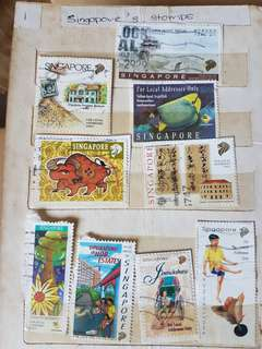 Old stamps collection