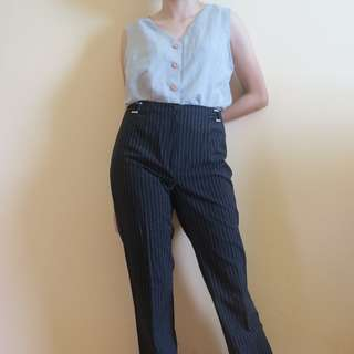 Original Mango Stripes Trousers