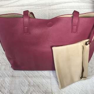Bass Reversible Tote Bag