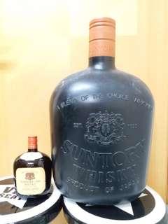 Suntory 大膠瓶一個加威仕威一支