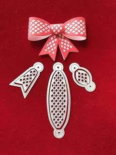 Ribbon bow #7 scrapbook Cutting Dies