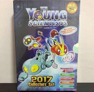 2017 The Young Scientists Collectors's Set ~ Level 4