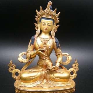 鎏金工藝品 尼泊爾佛像