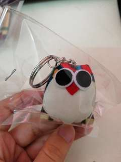 The owl keychain