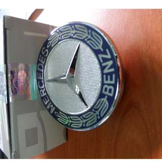 MERCEDES BENZ BONNET LOGO (BLUE)