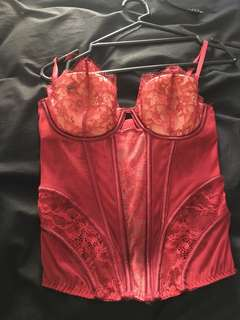 Victoria Secret Bustier, only tried on