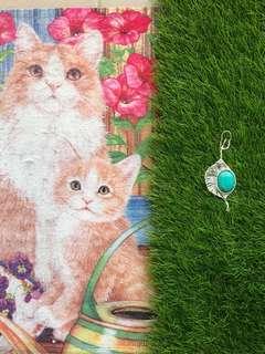 🚚 美國進口 bead beadsmith smith 編織重磅 設計款 純銀色搭配天河石 原石設計 knits