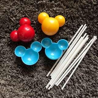 Mickey Mouse Lollicake Mould Set