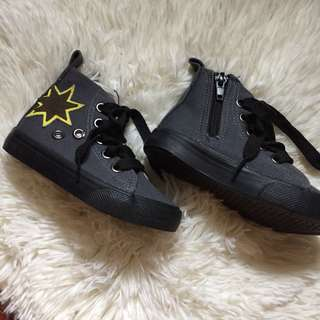 Dark Grey Cotton on shoes for Boys
