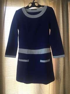 Repriced!!Royal Blue Office Dress