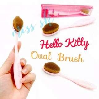 HK Oval Brush (Kuas Foundation Make Up)