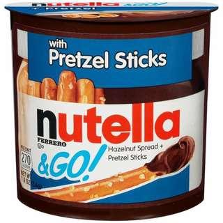 Nutella Go Pretzel