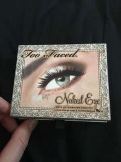 Too faced Neutral eyeshadow pallete