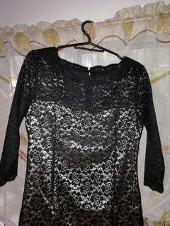 🌟Repriced🌟 Karimadon black lacey dress