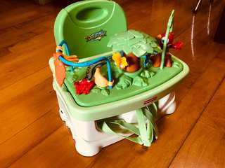 Fisher Price 兒童加高餐椅/坐椅