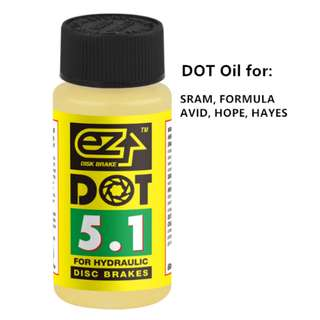 💯🆕Ezmtb 60ml Dot 5.1 mineral oil brake oil  for hydraulic brake