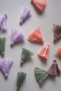 Handmade Cotton Tassel