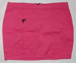 Pink barbie miniskirt