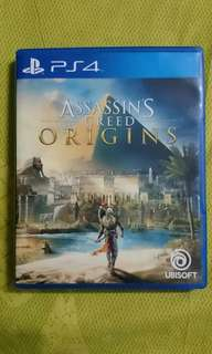 PS4 Game: Assasin's Creed Origins