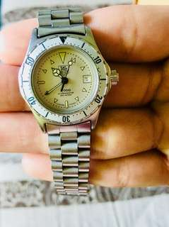 Original Tag Heuer professional 2000(silver)