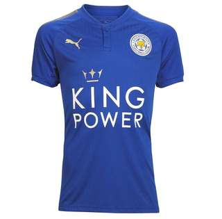 Authentic PUMA Leicester City Home Jersey 2017/18 (Size: M & L)
