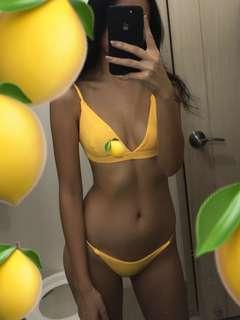 Cheeky Yellow Bikini🍋