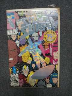Silver Surfer 75th Dec 1992 print. Hologram