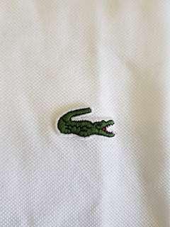 Lacoste Classic White Polo Shirt