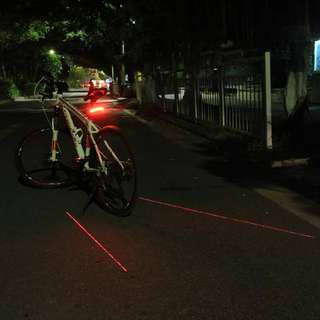 💯🆕 Meilan X5 Remote Control Signal  Laser Light Safety Tail light for Bicycle / Scooter/DYU/night cycling