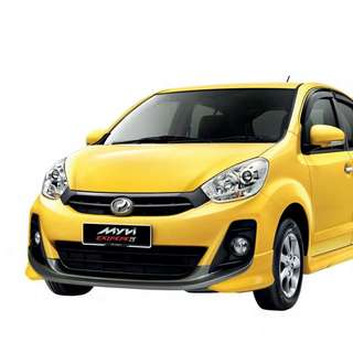 Car For Rent MYVI RM100