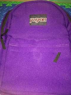 Jansport Backpack Violet ( not authentic )