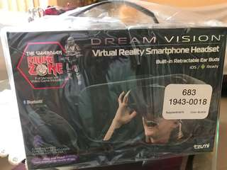 Dream Vision Virtual Reality Gaming System (No Battery Needed)