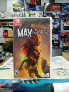 🆕 Nintendo Switch MAX The Curse of Brotherhood