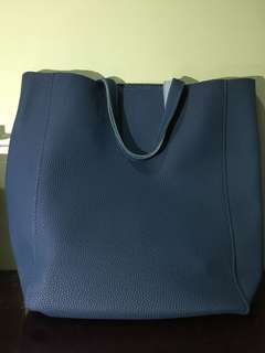 Parisian Tote Bag with zipper and sling