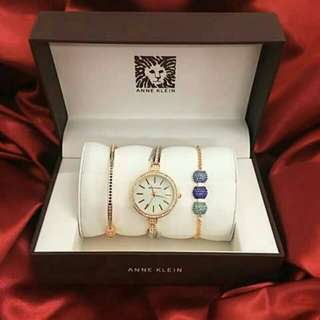 Ann klein Watch with Bangles for sale!