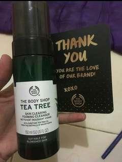 Tea Tree Foaming Facial Wash