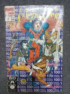 Marvel New Mutants 100th issue. Collectors comic