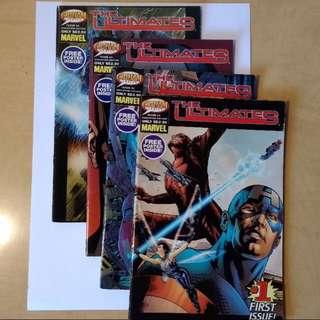 Marvel Comics: The Ultimates Volume 1 - 4