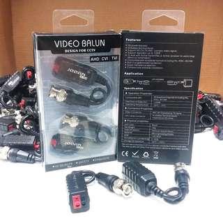 單個無源雙絞線傳輸器 防雷抗干擾BNC 網線視頻監控 可傳AHD