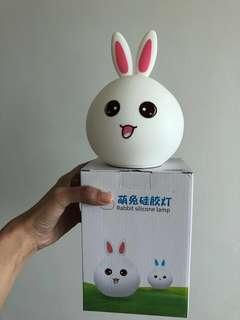 Rabbit silicon lamp