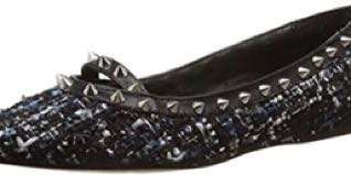 new with box Steve Madden Xhail. Damen Multi studded ballet flats - 6.5 - fits 6-6.5 comfortably