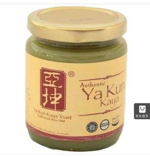 亞坤kaya咖椰麵包醬