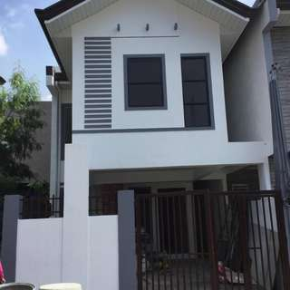 House and lot in North Olympus Subd. Philip St Zabarte Road 3bedrooms 2TB