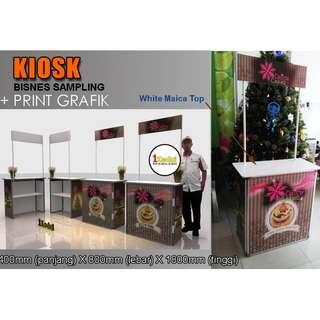 Bina Kiosk Sampling Niaga + Cetak Grafik.