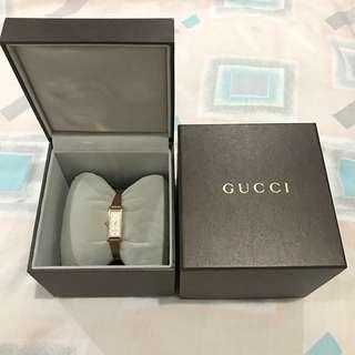 GUCCI bangle rose Gold Watch
