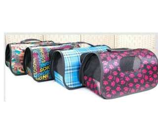 Pet Travel Bag Paw Design Limited Stock Only !